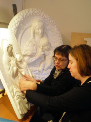 Museo Anteros: Esplorazioni tattili guidate delle più famose opere pittoriche della storia dell'arte